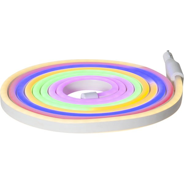 Șirag luminos pentru exterior Best Season Rope Light Flatneon, lungime 500 cm