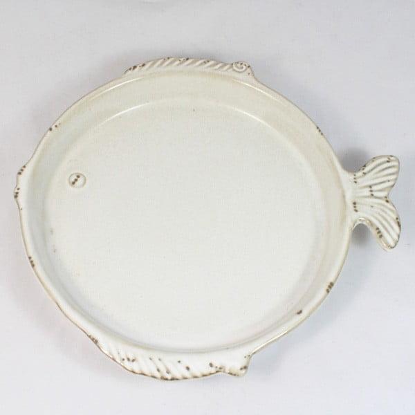 Keramický talíř Ryba, 20x18,5 cm