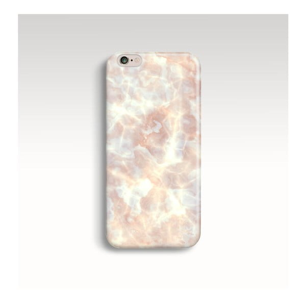 Obal na telefon Marble Powder Gold pro iPhone 5/5S