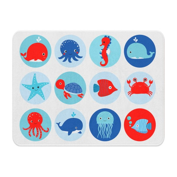 Detský koberec OYO Kids Sea Creatures, 100 x 140 cm