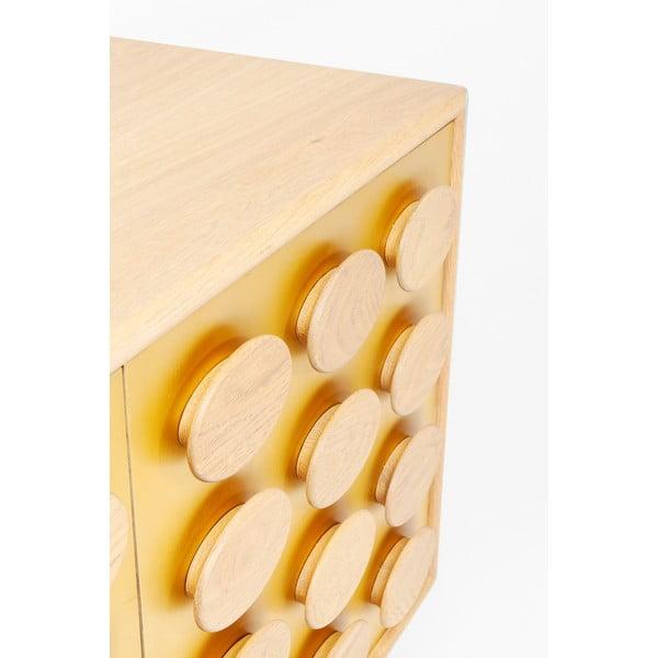 Komoda z dubového dřeva Kare Design Golden Eye