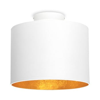 Plafonieră Sotto Luce MIKA, Ø 25 cm, alb/auriu imagine