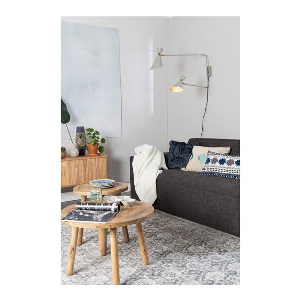 Krémový polštář s výplní Zuiver Evi, 50x30cm