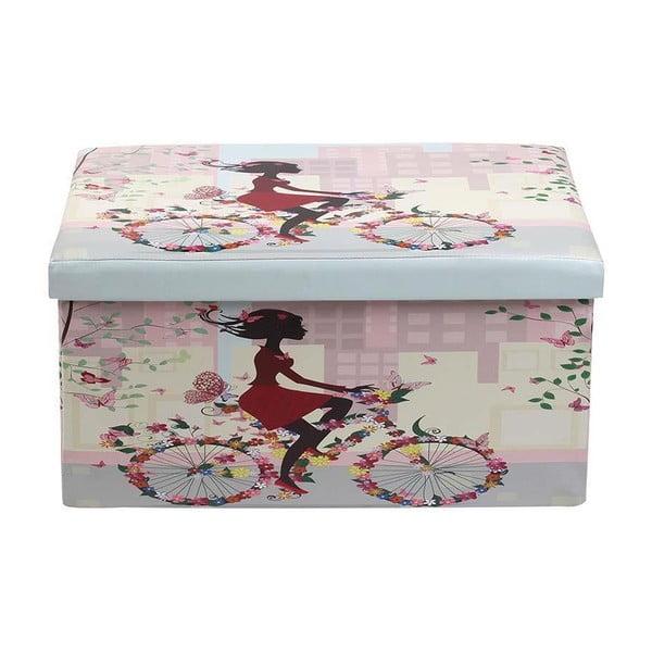 Stolička/box Romantic Bike