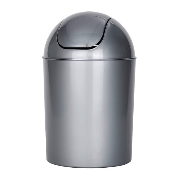 Sivý odpadkový kôš Wenko Swing