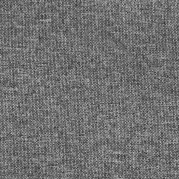 Světle šedá boxspring postel VivonitaKoso, 160x200cm