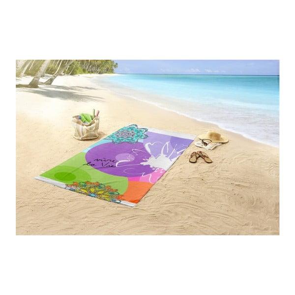 Plážová osuška s potiskem Muller Textiels Vivant,100 x 180cm