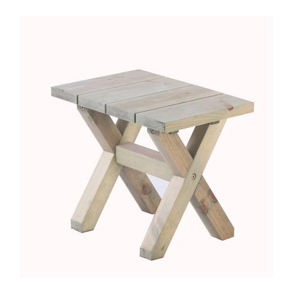 Zahradní stolička Siesta Natural, 55x35 cm