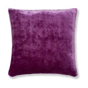 Fialový povlak na polštář Catherine Lansfield Basic Cuddly, 55x55cm