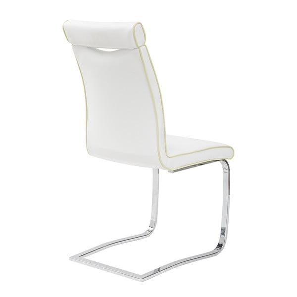 Jídelní židle Clarence, bílá