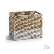 Cutie de depozitare din răchită La Forma Woody