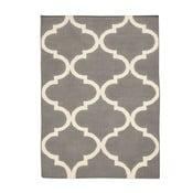 Ručně tkaný koberec Caroline Grey, 140x200 cm