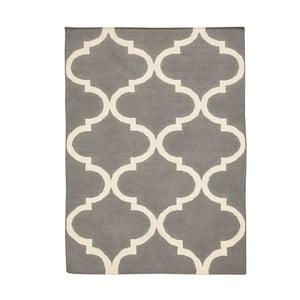 Vlněný koberec Bakero Caroline Grey, 60x90cm