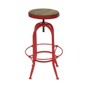 Barová stolička s červenými nohami Red Cartel Cassidy Meu