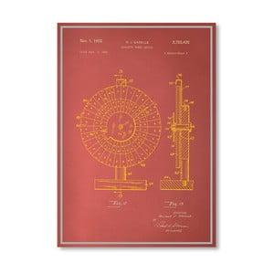 Plakát Roulette Wheel II, 30x42 cm