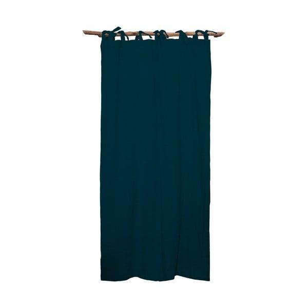 Draperie Linen Cuture Cortina Hogar Turquoise, turcoaz închis