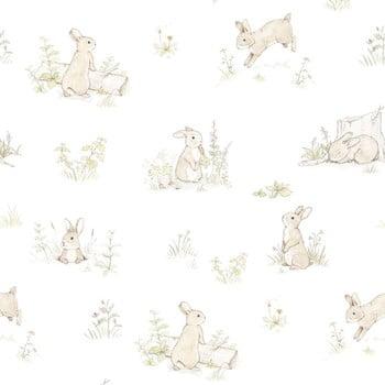Tapet cu model cu iepuri Dekornik Rabbit Day Classic imagine