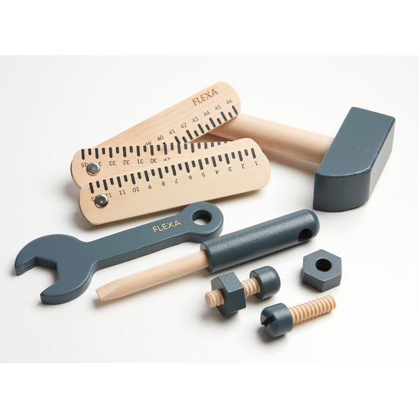 Zestaw narzędzi dziecięcych do zabawy Flexa Toys Tool