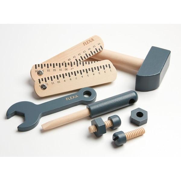 Dětská sada dřevěného nářadí Flexa Play Tool