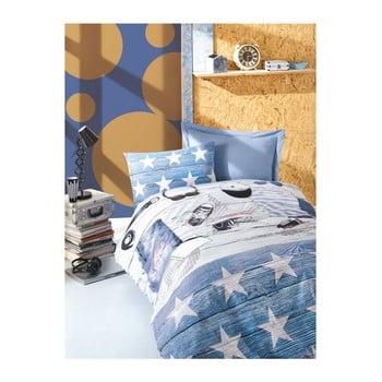 Lenjerie de pat cu cearşaf pentru copii Badis 160 x 220 cm