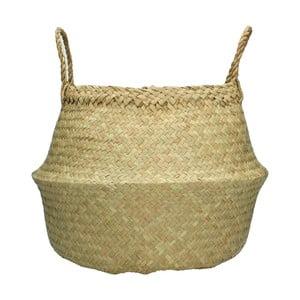Přírodní ručně pletený koš z mořské trávy HF Living, ⌀ 35 cm