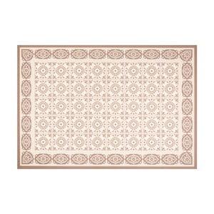 Hnědý vinylový koberec Zala Living Aurelie, 65 x 100 cm