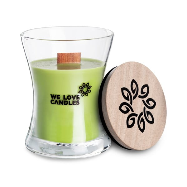 Świeczka z wosku sojowego We Love Candles Green Tea, 48 h