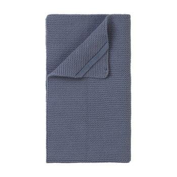 Pătură împletită Blomus Wipe, 55 x 32 cm, albastru gri imagine