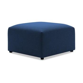 Taburet Vivonita Cube, albastru închis