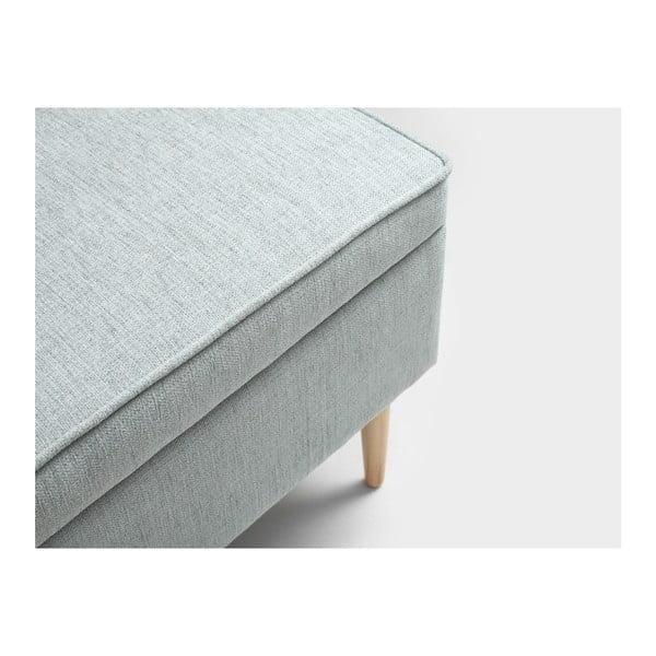 Světle modrá podnožka s úložným prostorem Custom Form Edi
