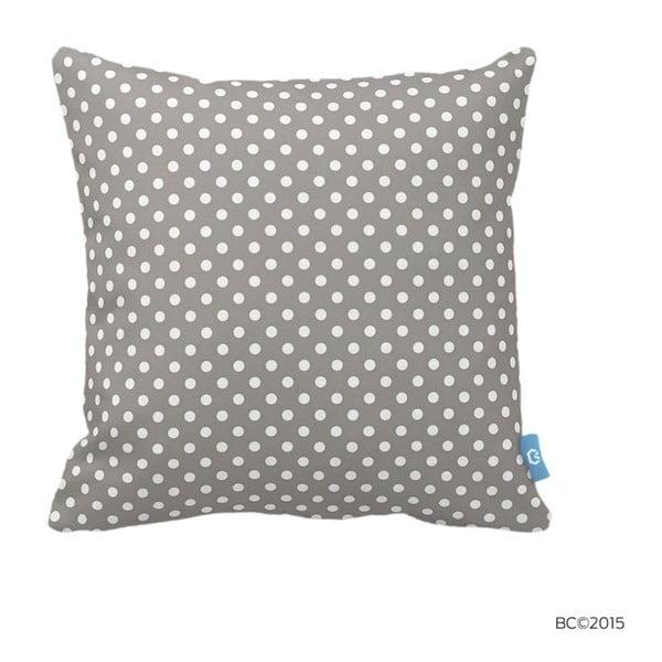 Homemania Dots, 43 x 43 cm, gri-alb