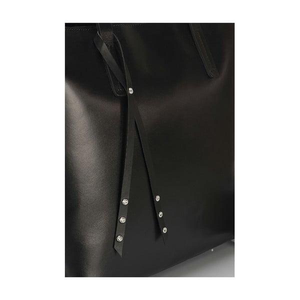 Kožená kabelka Giorgio Costa 15005 Black