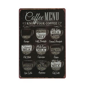 Cedule Coffee Menu, 20x30 cm