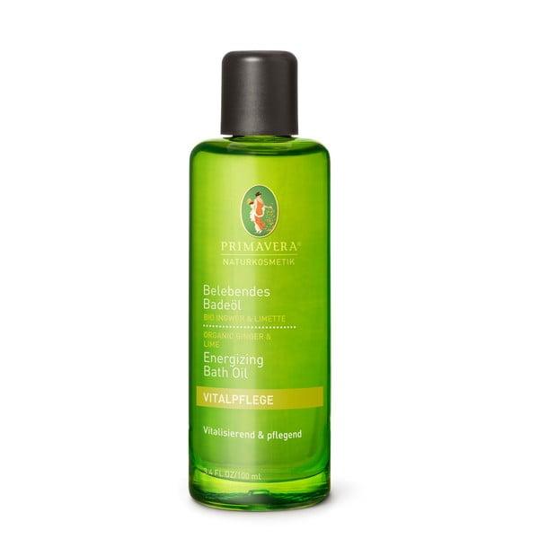 Koupelový olej Primavera Zázvor Limeta, 100 ml