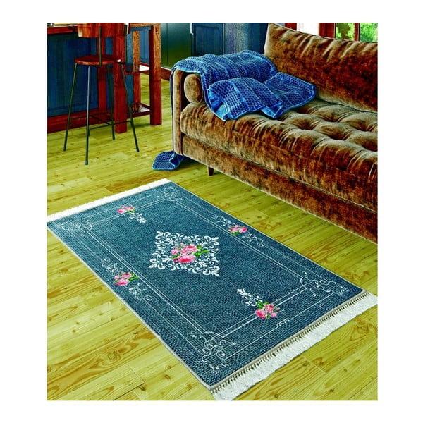 Dětský koberec Lyon Dark Blue, 80x150cm