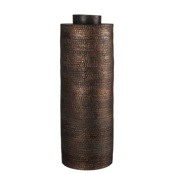 Keramická váza Brasa Black Copper, 57 cm