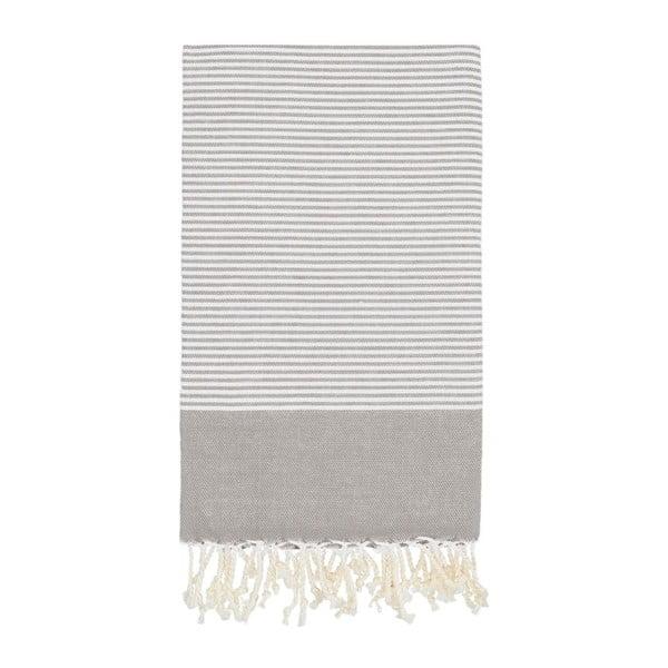Hammam osuška Side Grey, 100x180 cm