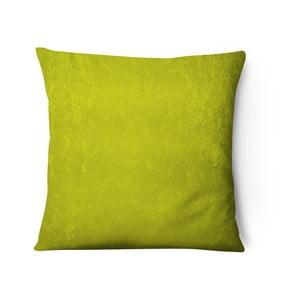 Față pernă din catifea Series, 43x43cm, galben verzui
