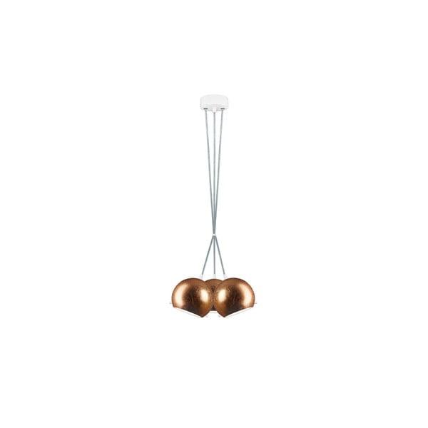 Tři světla MYOO Elementary, copper/transparent/white