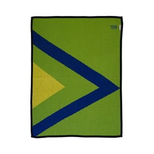 Pletená přikrývka The Wild Hug Geometric, 80 x 110 cm