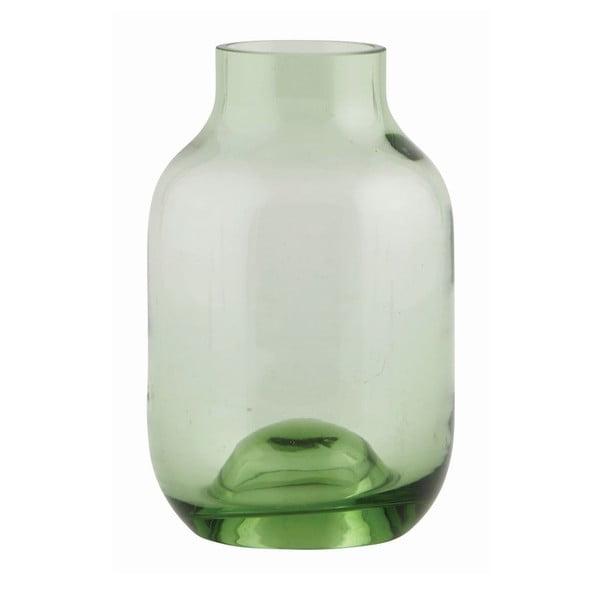 Váza Green Glass Small