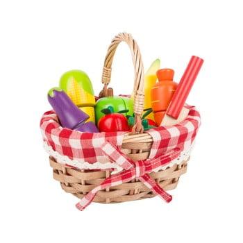 Coș cumpărături pentru copii Legler Fruits imagine
