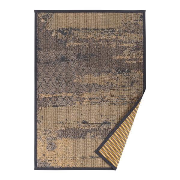Nehatu bézs mintás kétoldalú szőnyeg, 70 x 140 cm - Narma