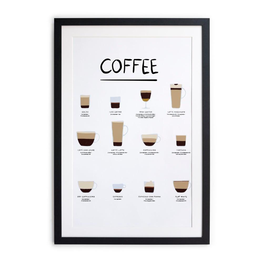 Nástěnný obraz v rámu Really Nice Things Coffee, 30 x 40 cm