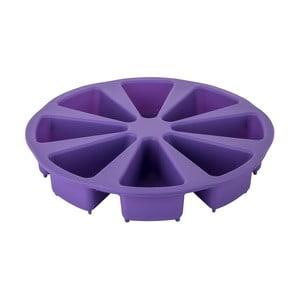 Fialová silikonová forma na naporcovaný dort Tantitoni Dessert, ⌀ 27 cm