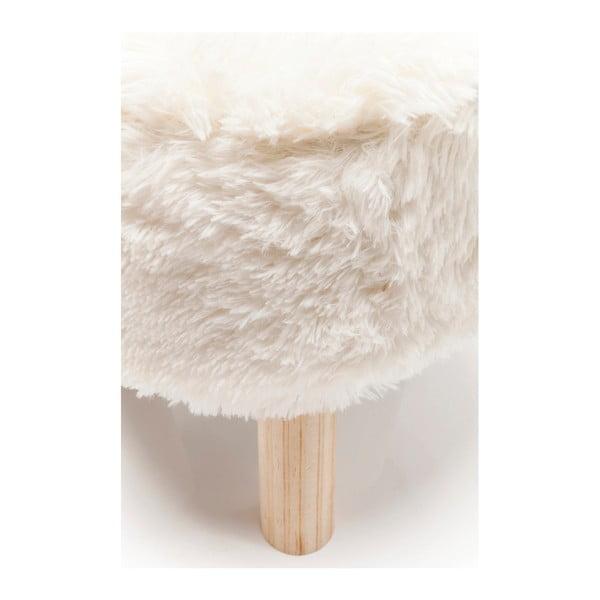Bílá stolička Kare Design Fur