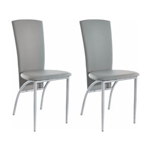 Sada 2 šedých  jídelních židlí Støraa Nevada