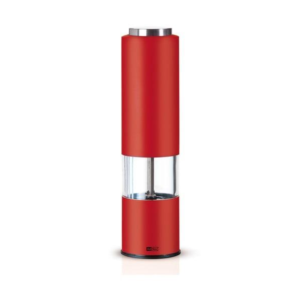 Elektrický mlýnek Tropica, červený