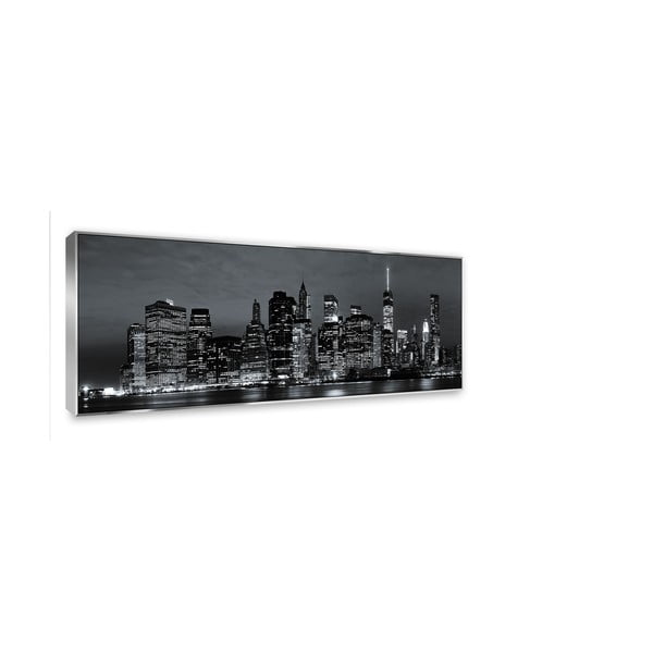 Tablou imprimat pe pânză Styler Silver City, 152 x 62 cm