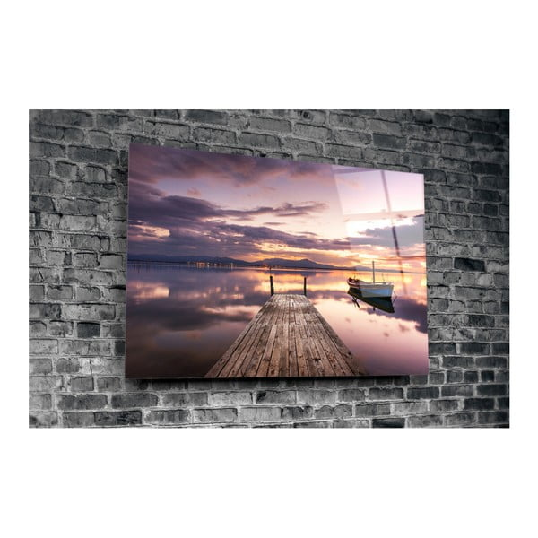 Mentejo üvegkép, 110x70cm - 3D Art